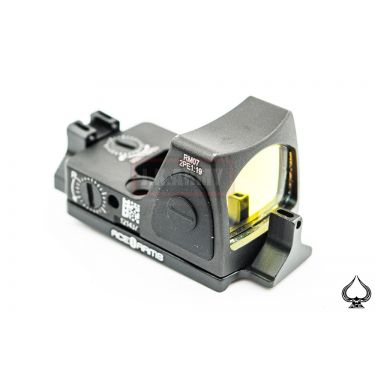 Ace One Arms RMR Style Airsoft Red Dot Sight with DD Style Red Dot Back Up Sight Base for G Model ( Black )