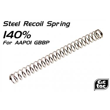 C&C 140% Recoil Spring for Action Army AAP01 Assassin GBBP Airsoft