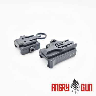 Angry Gun H Style Front and Rear Sight Set ( UMAREX 416 Series )