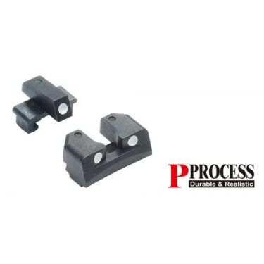 Guarder Steel Sight Set for MARUI P226 ( Black )
