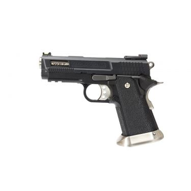 WE Tech Hi-Capa Force 3.8 Brontosaurus GBB Pistol ( Black )