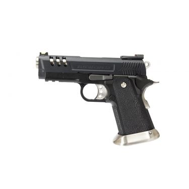 WE Tech Hi-Capa Force 3.8 Deinonychus GBB Pistol ( Black )