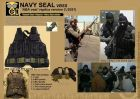 NAVY SEAL ABA VBSS Tactical Vest ( Replica Version 2 , 2021 ) ( By TGC , Limited Edition)