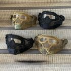 AWT Armor Warrior Tactical G4 Protection Helmet - Replacement Part Mask Kit