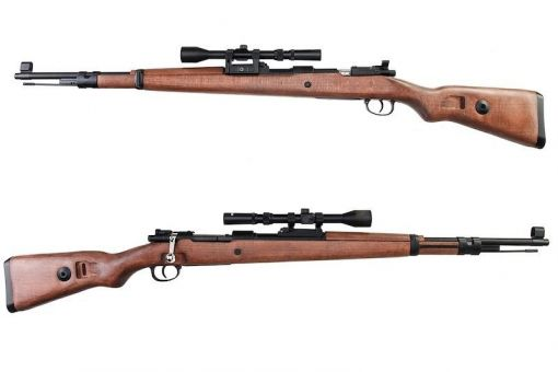 Bell KAR 98k Air cocking Shell-Ejecting Sniper ( Plastic ver./ W Scope Set ) ( DBOY )