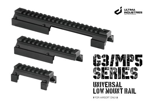 UI G3 / MP5 Series Universal Low Mount Rail Type B ( 1913 20mm Rail ) ( Type B for Old version before 2021 )