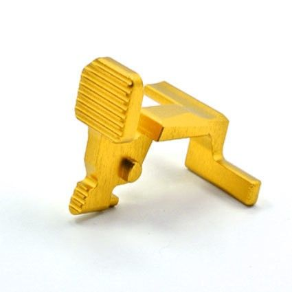 UAC Bolt Stop For Tokyo Marui M4A1 MWS (Type A) - Gold