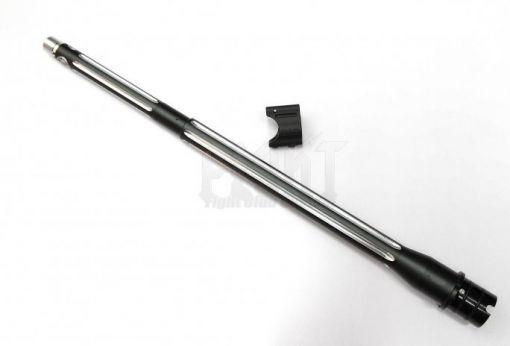 """B*D style Ultramatch 14.5"""" outer barrel kit for PTW w/ Proprietary Gasblock Combo (Black/Silver).625""""Version"""