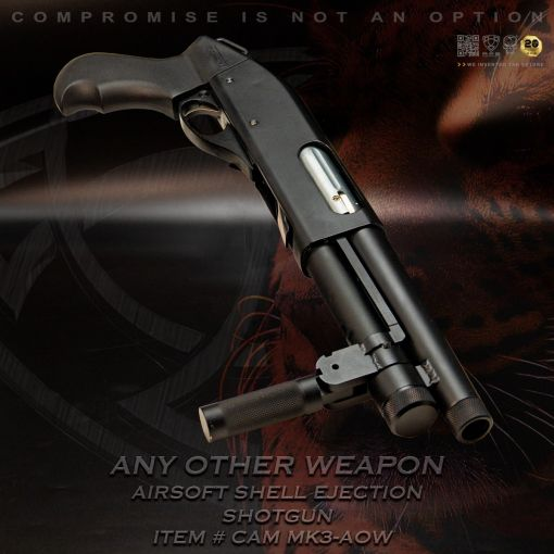 APS Cartridge CAM MKIII Any Other Weapon Airsoft Shell Ejection Pump Action Shotgun ( CAM870 AOW MK3 MKIII Design )