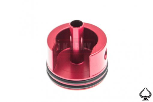 A1A Aluminum Cylinder Head for Ver.2 ( M4 ) Gearbox Short  w/ Cushion Pad ( Red )
