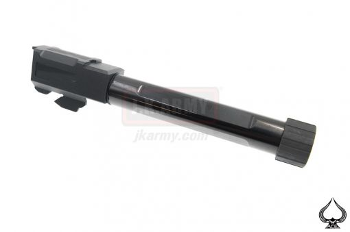 A1A Model 17 Stainless Steel NINE Style 14mm CCW Threaded Outer Barrel ( Type Flat )