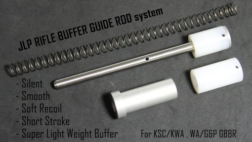 JLP Rifle Buffer Guide Rod (RBGR) System for KWA / GHK / WA / G&P GBB M4 System