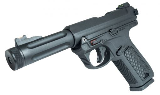 Action Army AAP01 Assassin GBB Pistol Airsoft ( Black ) ( AAP-01 )