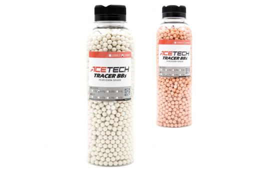 Acetech Tracer BBs 0.25g 6mm 2700CT ( Bottle ) ( Green / Red )