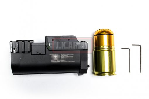 AF Metal 40mm Grenade Launcher with 64rds 40mm Airsoft Grenade ( BK )