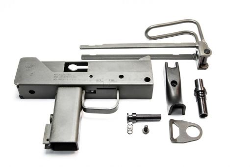 AGT M11A1 Steel Conversion Kit For KSC M11A1 GBB ( Parkerizing Surface Finishing )