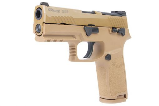 SIG AIR P320 M18 6mm Gas Version GBB Pistol ( Tan ) ( Licensed by SIG Sauer ) ( by VFC )