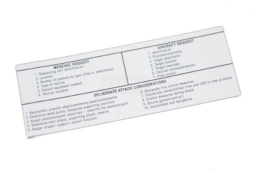 Air-Support Request Instruction Stock Sticker