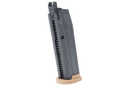 SIG AIR 25rds Magazine for P320 M18 GBB ( Tan ) ( Green Gas ) ( Licensed by SIG Sauer ) ( by VFC )