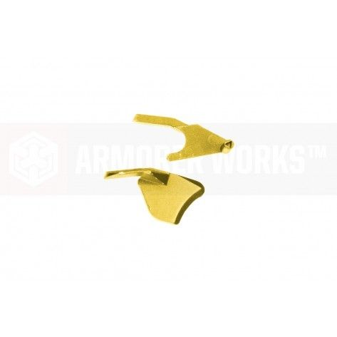 Armorer Works HX 5.1 Thumb Safety ( Left & Right ) for TM/WE/AW Hi-Capas ( Gold )