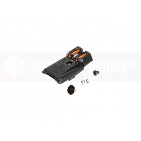 Armor Work HX Rear Sight Assembly for WE / AW Hi-Capa ( Black )