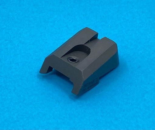 Pro-Arms CNC High Rear Sight for Marui TM V10 GBBP Series