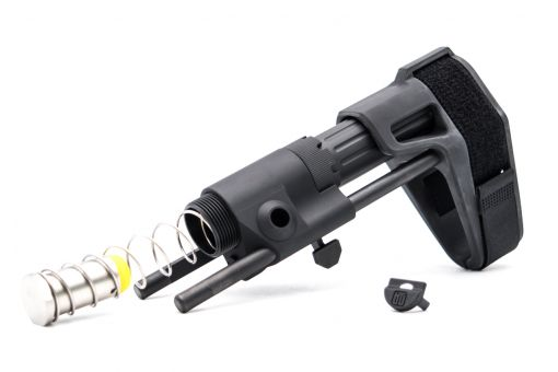 BJ MD Style PDW Stock for Marui TM MWS GBB ( Black )