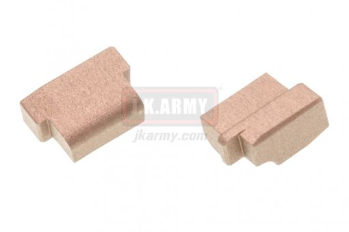 Bomber Safety Frame Plugs For Marui M&P GBB Pistol ( FDE )