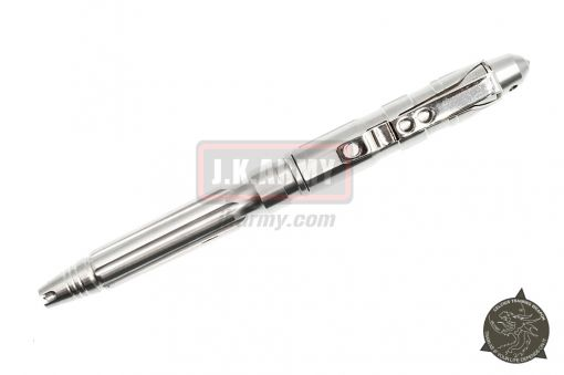 Polished Stainless CELCIUS Tactical Pen ( Military Grade ) ( CTW )