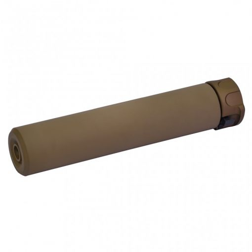 DYTAC SOCOM RC1 Tracer Silencer Case Only w/ SFCT-556 Style 14mm CCW Flash Hider ( DE )