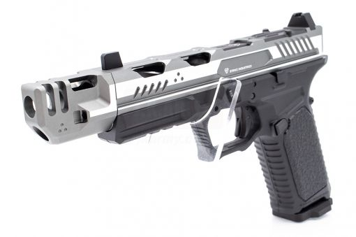EMG Strike Industries SI-ARK-17 with Mass Driver Comp Ver. GBB Pistol ( 2-Tone Grey )