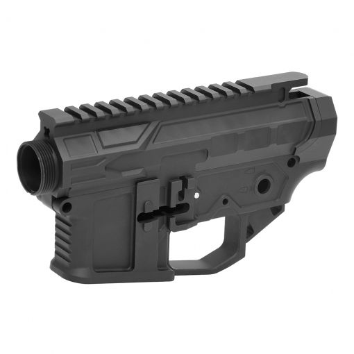 DYTAC F4 Defense F4-15 Receiver for Marui TM M4 MWS ( Black ) ( Limited Edition ) ( Official Licensed F4 Defense )