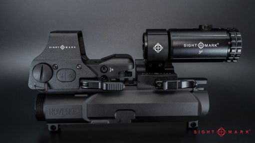 SightMark Ultra Shot Plus Red Dot Sight with T3 Flip Magnifier Combo SM26016K