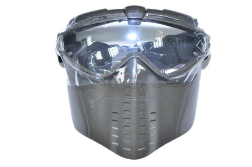 Electric Full Face Goggle Mask with Fan ( OD )