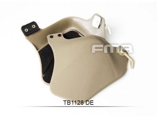 FMA Plastic Side Covers with Pad ( DE )