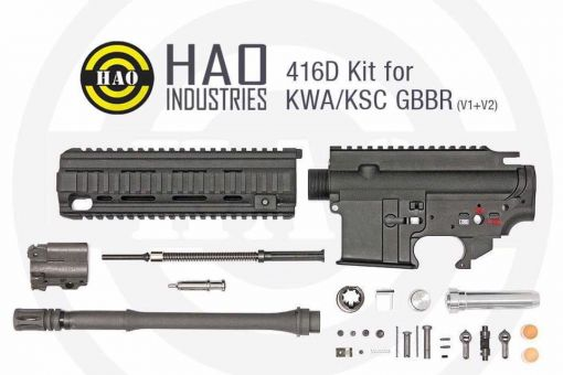 HAO 416D Conversion Kit for KWA / KSC GBBR ( All Version )