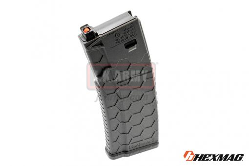 Hexmag Airsoft 120rd Magazine for PTW M4 ( Black )