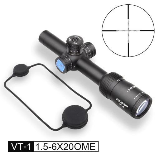 DISCOVERY Optics VT-1 1.5-6X20 ME Red and Green Double Suitable Airsoft Rifle Scope