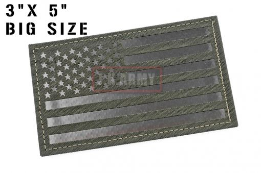 """Infra Red Patch - USA Flag ( Forward ) ( 3""""x5"""" Big Size ) ( MG ) ( Free Shipping )"""