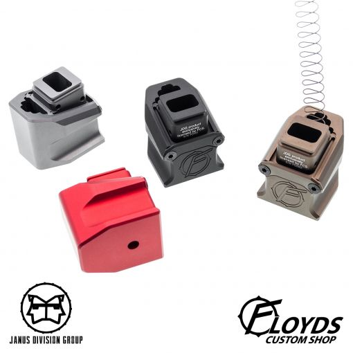 JDG Floyds Licensed Magazine Extension Pad for TM M&P ( Functional // +Gas +BBs Rds )