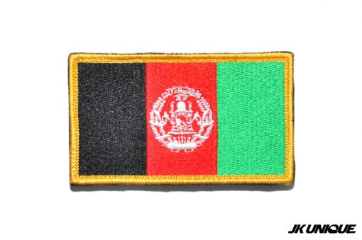JK UNIQUE Patch - Afghanistan ( Full Color ) ( Free Shipping )