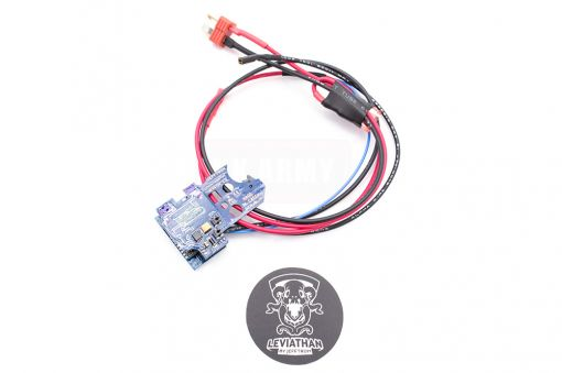 JeffTron Wiring to Stock Leviathan MOSFET for Version 2 Gearbox AEG
