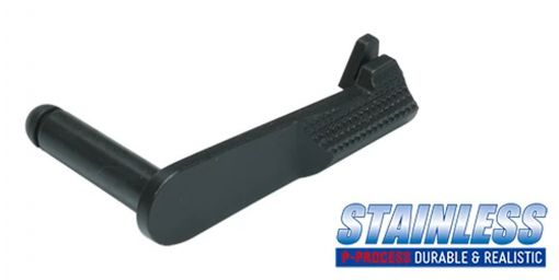 Guarder Stainless Slide Stop for MARUI M1911 ( Black )