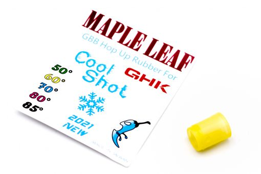 """Maple Leaf Silicone Version of """"Cool Shot"""" Hop Up Rubber for Maple GHK Hop Up Chamber ( 50° / 60° / 70° / 75°/ 80° Degree )"""