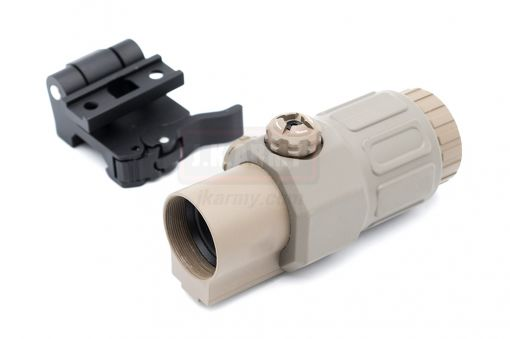 MF/EG 33 Style Magnifier 3X MIL Deluxe with Mount ( Matte Ver. )