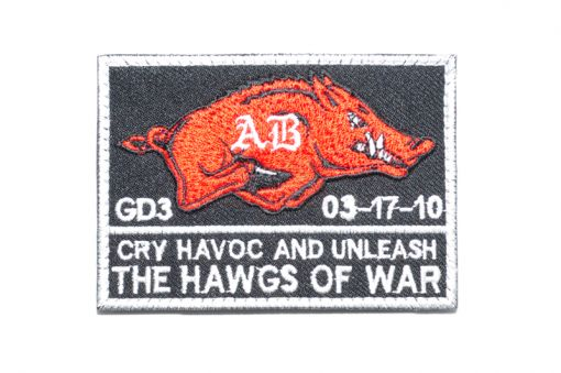 """Navy Seals """" The Hawgs of War """" Patch ( Free Shipping )"""
