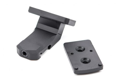 RGW T2 / RMR Red Dot Sight Oblique Angle Offsets Mount for 1913 20mm