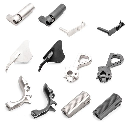 Pro-Arms CNC Stainless Steel Parts for Marui TM V10 GBBP Series ( Safety / Hammer / Grip Safety / Slide Catch / Spring Housing / Mag Release )