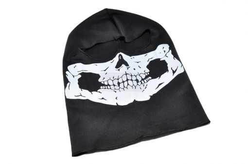 Skull Face Head Cover (1 Hold ) ( Reflective Ver. )