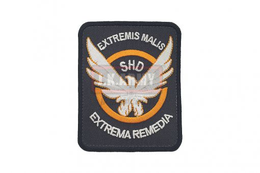 The Division Cosplaying Game Embroidered SHD - Rectangle Ver. Patch